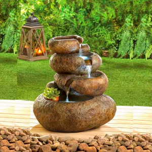 Indoor customized water fountain for garden decor