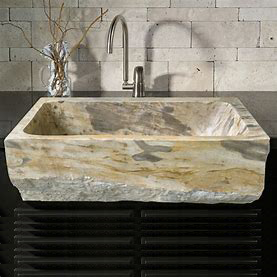 Limestone  used kitchen sinks with single hole