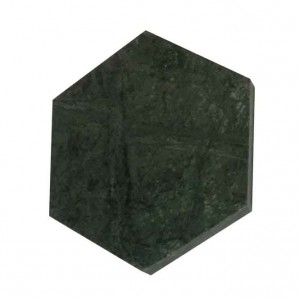 Green Marble Hexagon Stone Coasters – Polished Coasters