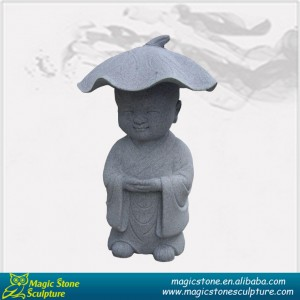 Stone baby Buddha monk sculpture for sale