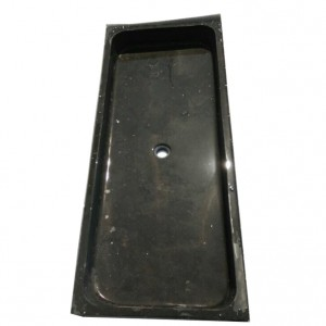 Limestone black used kitchen sinks with single hole