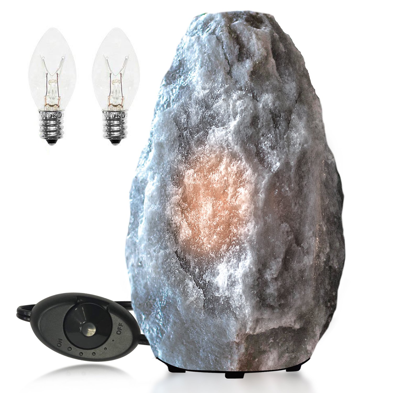 Why does the rock lamp get wet?
