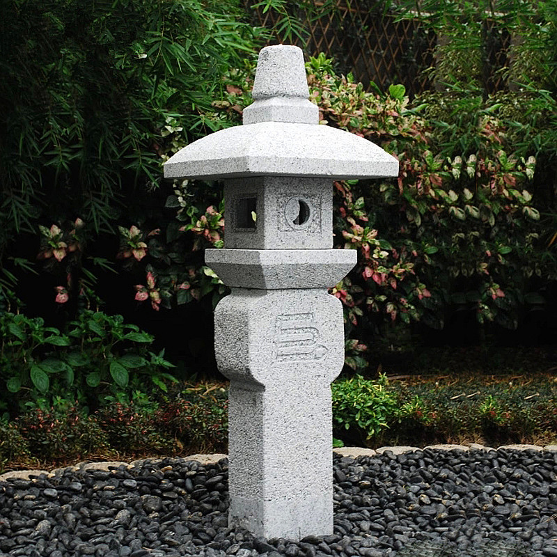 Rock stone lantern for sale Featured Image