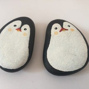 Wholesale  pebble stone christmas gifts and crafts items