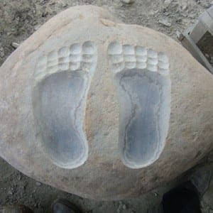 Foot shape Intagio from xiamen supplier