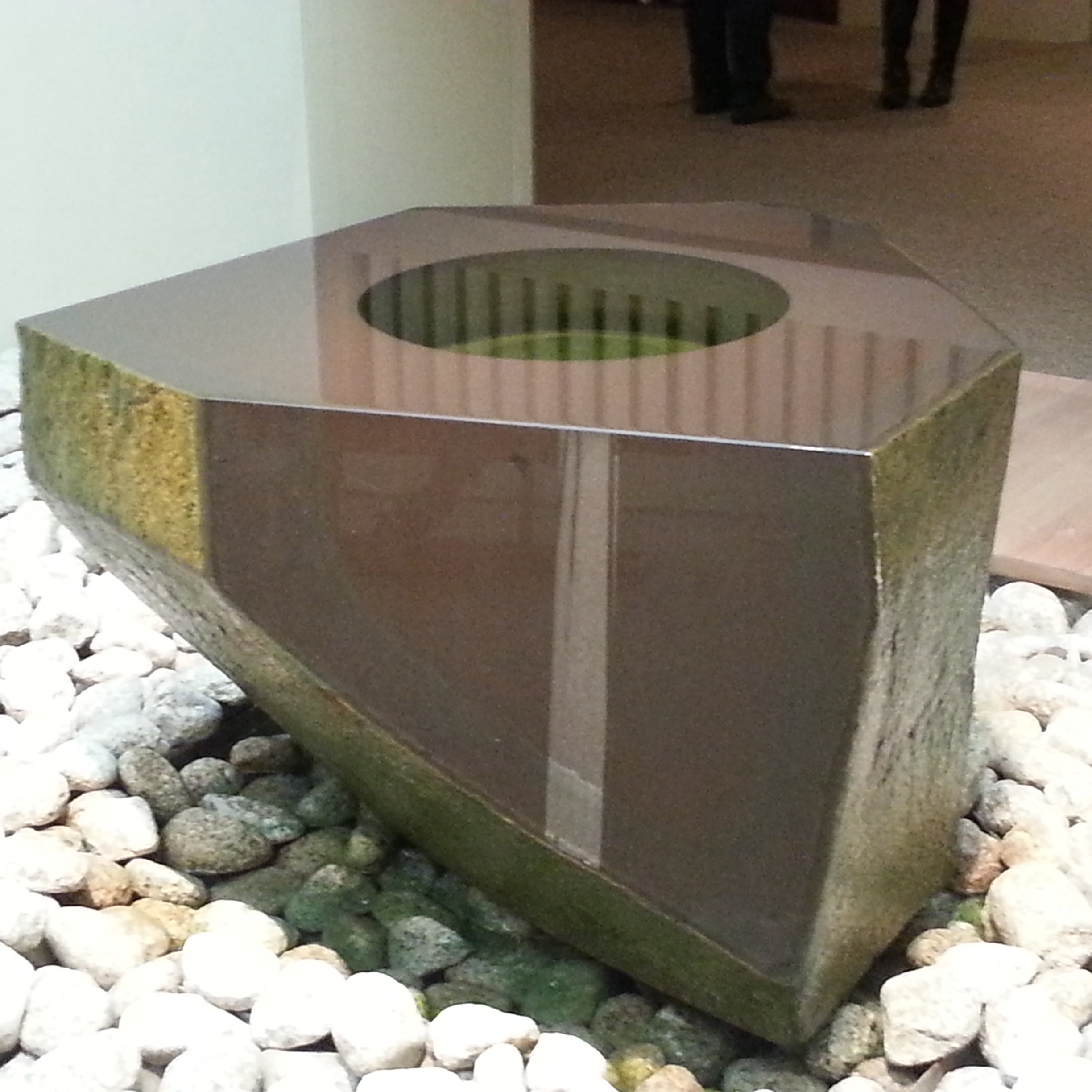 Natural basalt fountain water feature for garden decor Featured Image