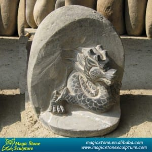 Garden ornament sculpture dragon statue
