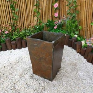 Yellow slate magic planter flower pot for sale