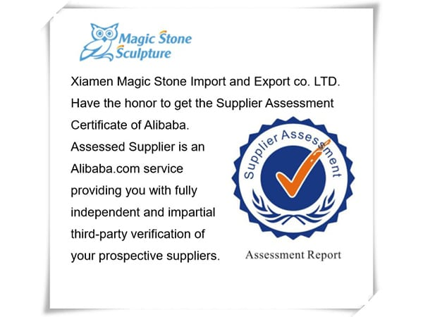 Assessed supplier Xiamen Magic Stone