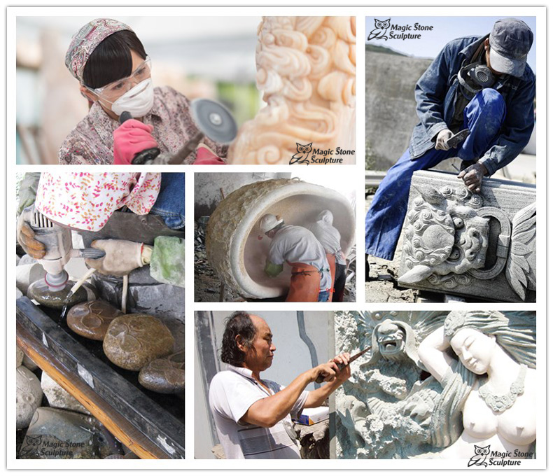 carving processing Magic Stone Sculpture