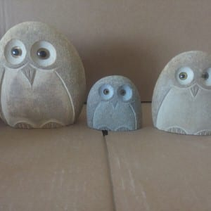 High quality cute owl statue gift for sale