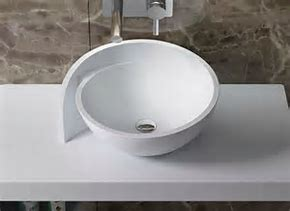 Bathroom marble stone sink